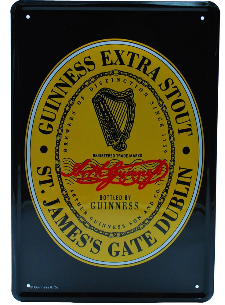 Cartel Publicitario  Guinness