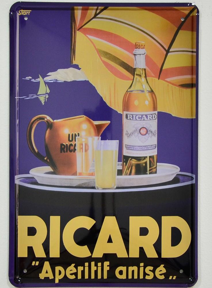 Cartel Publicitario de Ricard