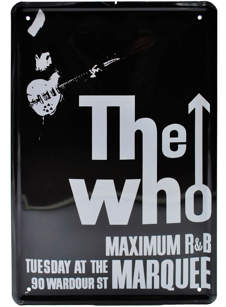 Cartel Metálico The Who