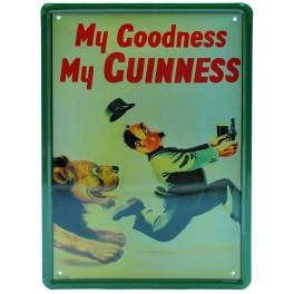 Cartel Publicitario Guinness leon