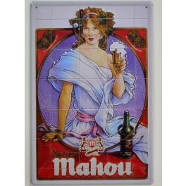 Cartel Publicitario Cerveza Mahou