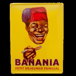 Cartel Publicitario Banania