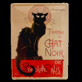 Cartel Publicitario Chat Noir