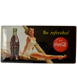 Cartel Publicitario Coca Cola Be Refreshed
