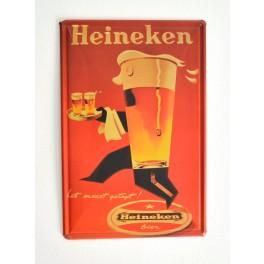 Cartel de Cerveza Heineken