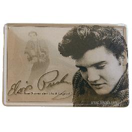 Cartel Metálico Elvis Presley