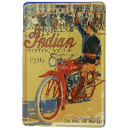 Cartel Publicitario Indian Motorbike 1916