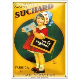 Postal Metálica Suchard