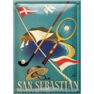 Postal Metálica San Sebastian