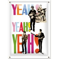 Postal Metálica The Beatles