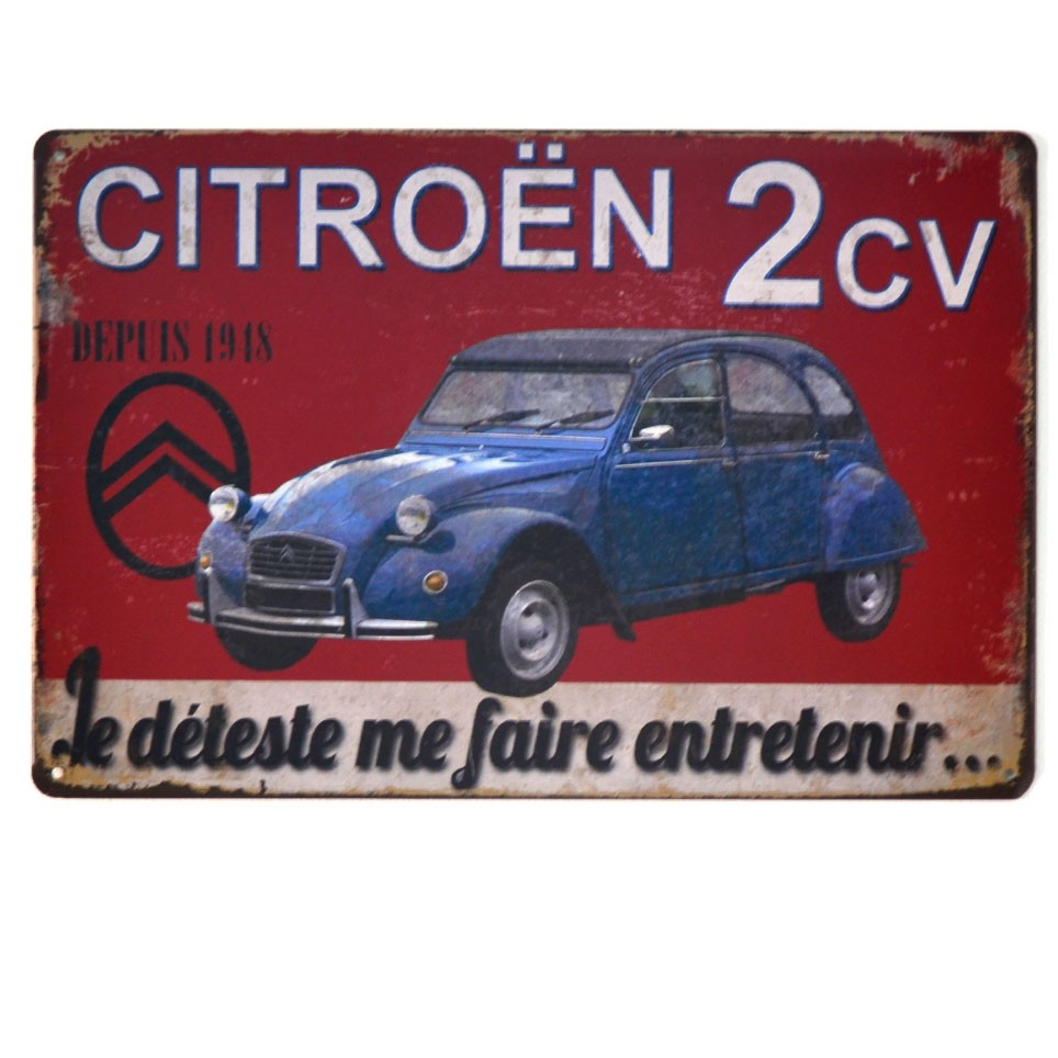 Chapa Metálica Citroen 2cv