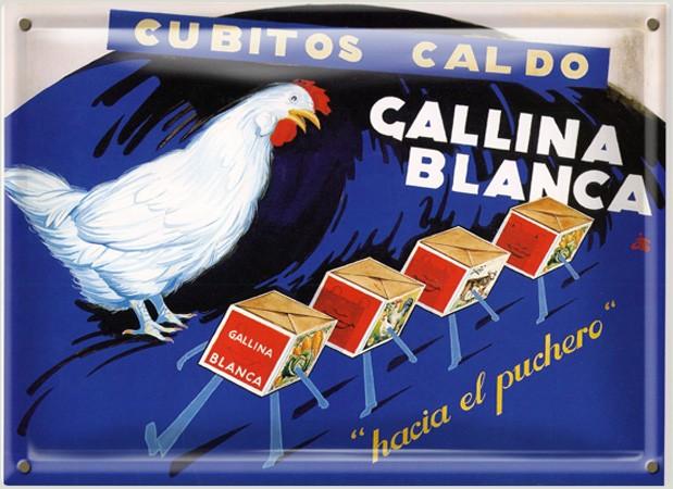 Cubitos Caldo Gallina Blanca