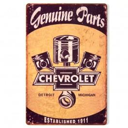 Chapa Metálica Chevrolet