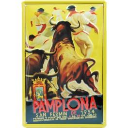 SanFermín 1954, Pamplona