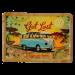 Postal Metalica Vw Bus Lets Get Lost