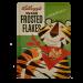 Postal Metálica Kellogs Frosted Flakes