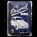 Chapa Metálica Volkswagen Beetle, The Original Ride