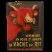 Cartel Publicitario Vache qui rit
