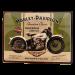 Cartel Publicitario Harley Knucklehead