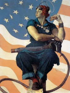 Norman Rockwell - Rosie the rivetter