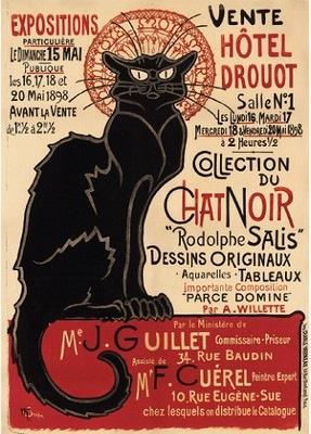 Le Chat Noir - Théophile-Alexandre Steinlen, 1896
