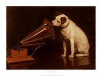 His master's voice, el perro más influyente de la industria discográfica