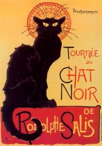 """Cartel """"Le Chat Noir"""""""