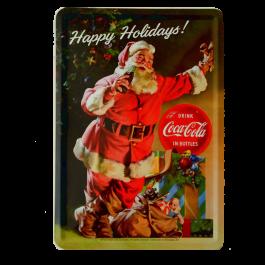 Postal Coca Cola SAnta Claus