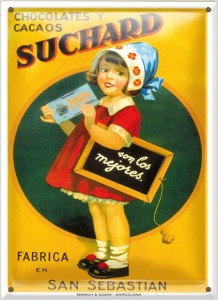 Postal Chocolate Suchard