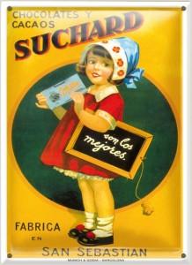Postal Chocolate Suchard