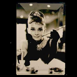 Cartel de Audrey Hepburn