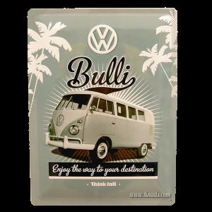 Cartel de Volkswagen Bulli