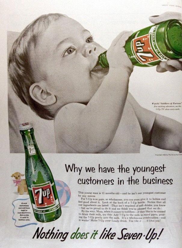 Carteles antiguos de publicidad politicamente incorrecta