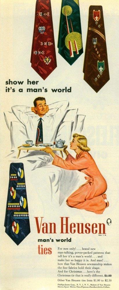 Carteles publicitarios machistas