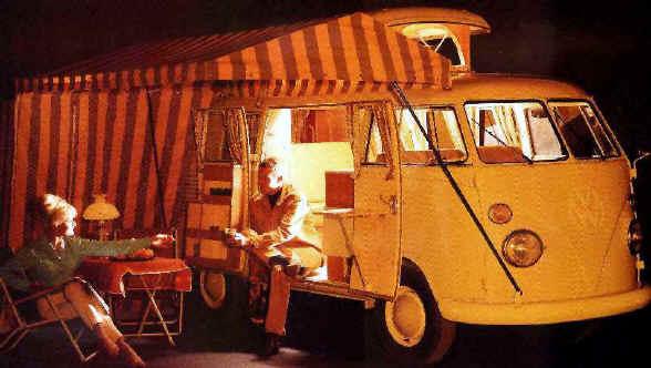 Volkswagen Bulli, camping 50