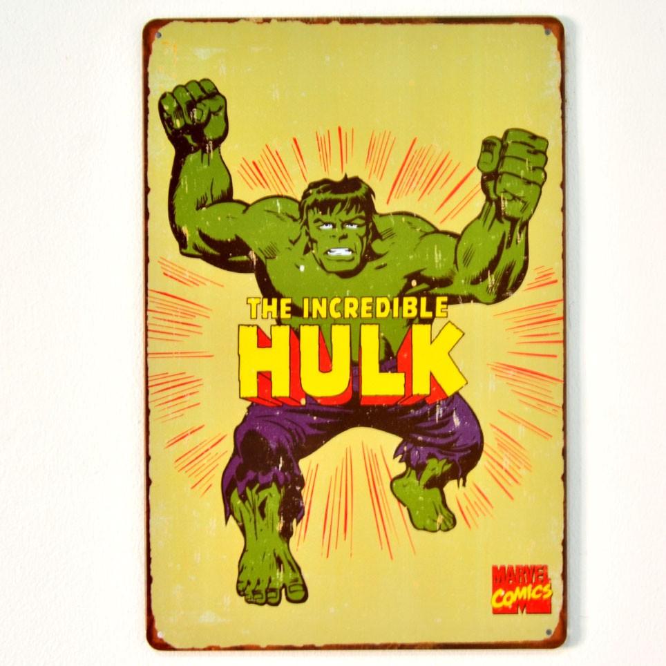 Chapa Metálica Hulk
