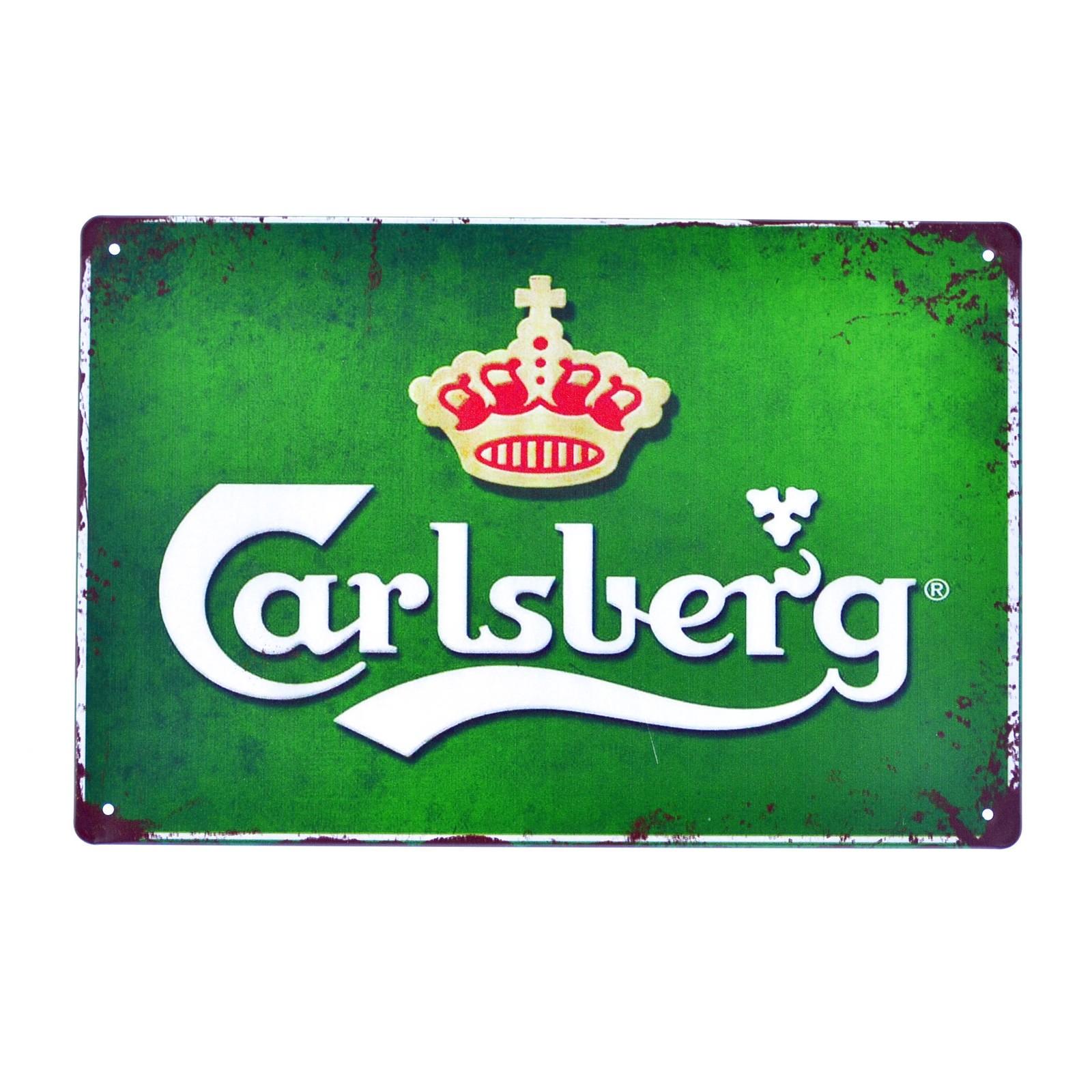 Cartel Metálico de Carlsberg
