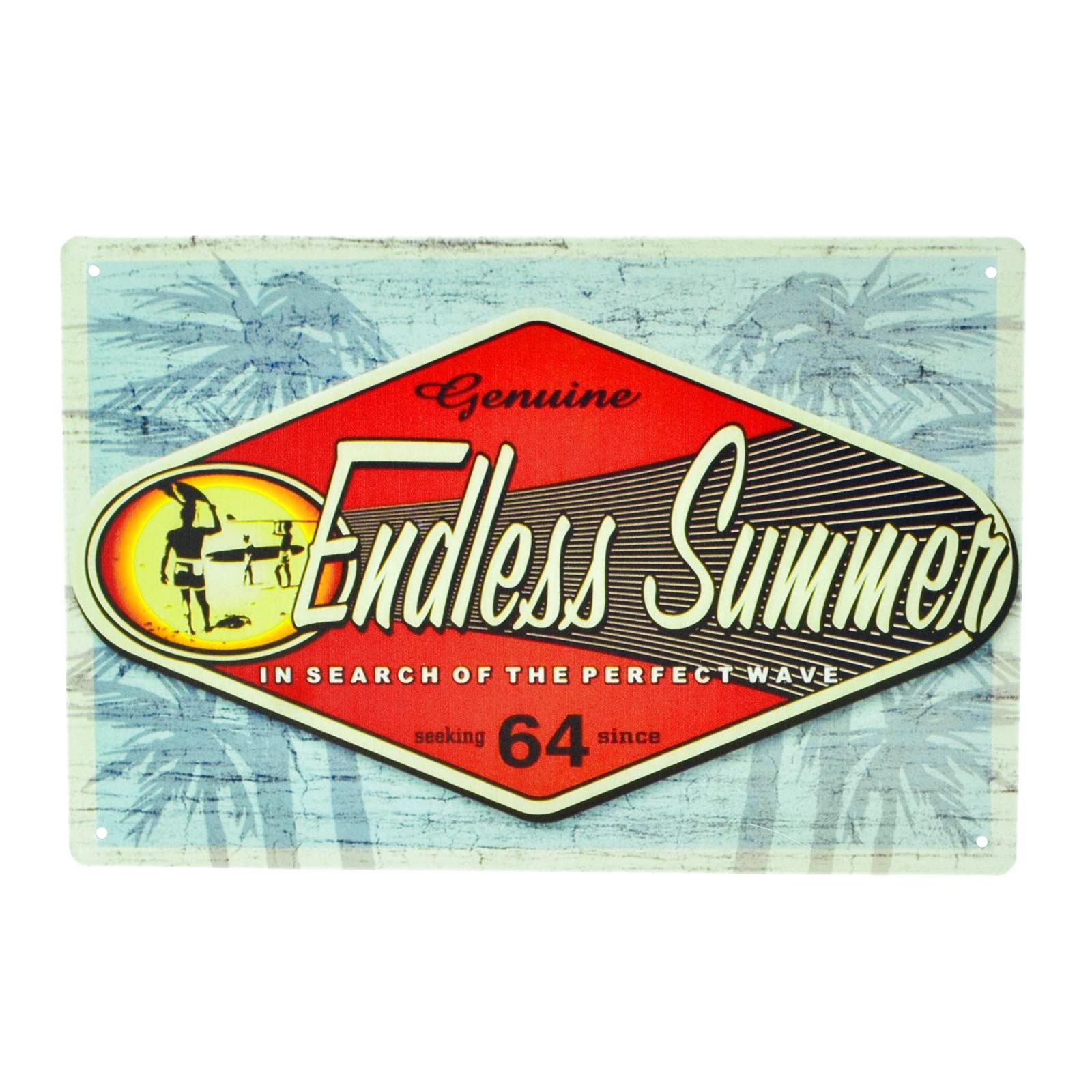 Cartel Metálico de Endless Summer