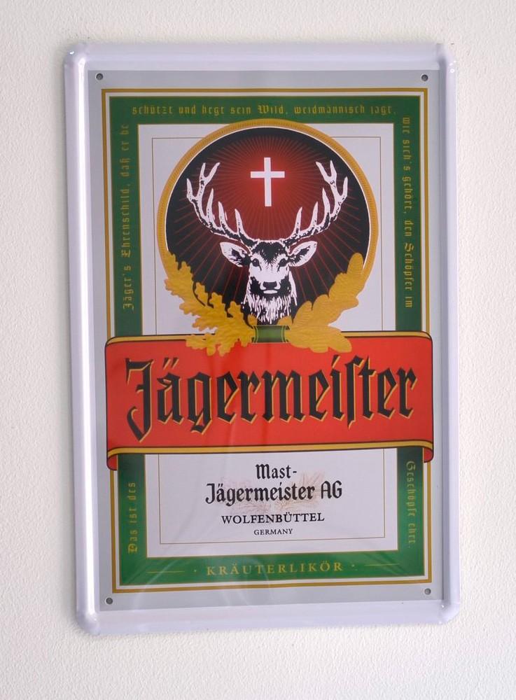 Cartel Publicitario Jägermeister