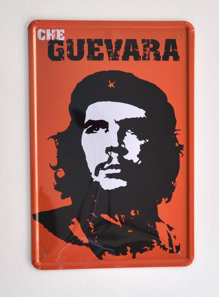 Cartel Metálico Che Guevara