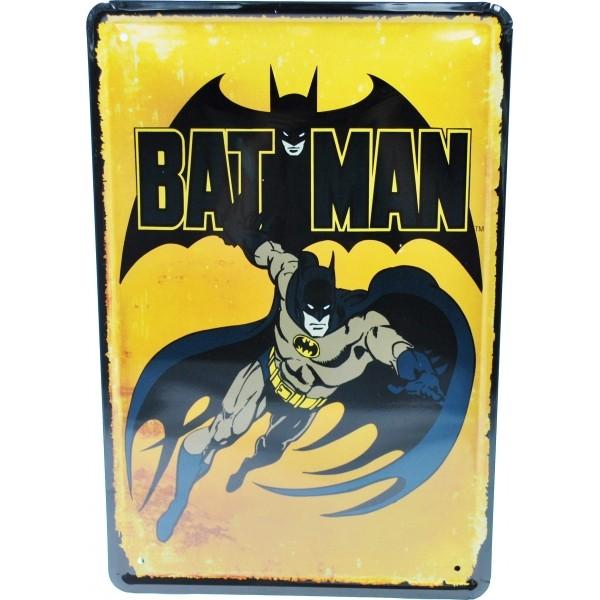 Cartel Metálico de Batman
