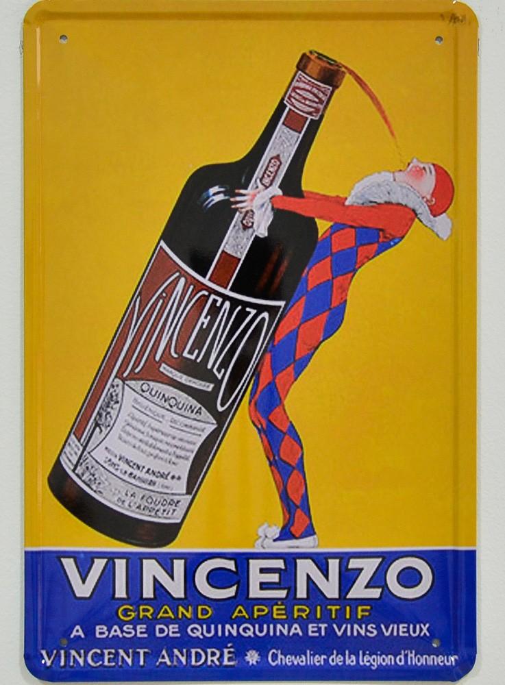 Cartel Publicitario Vincenzo