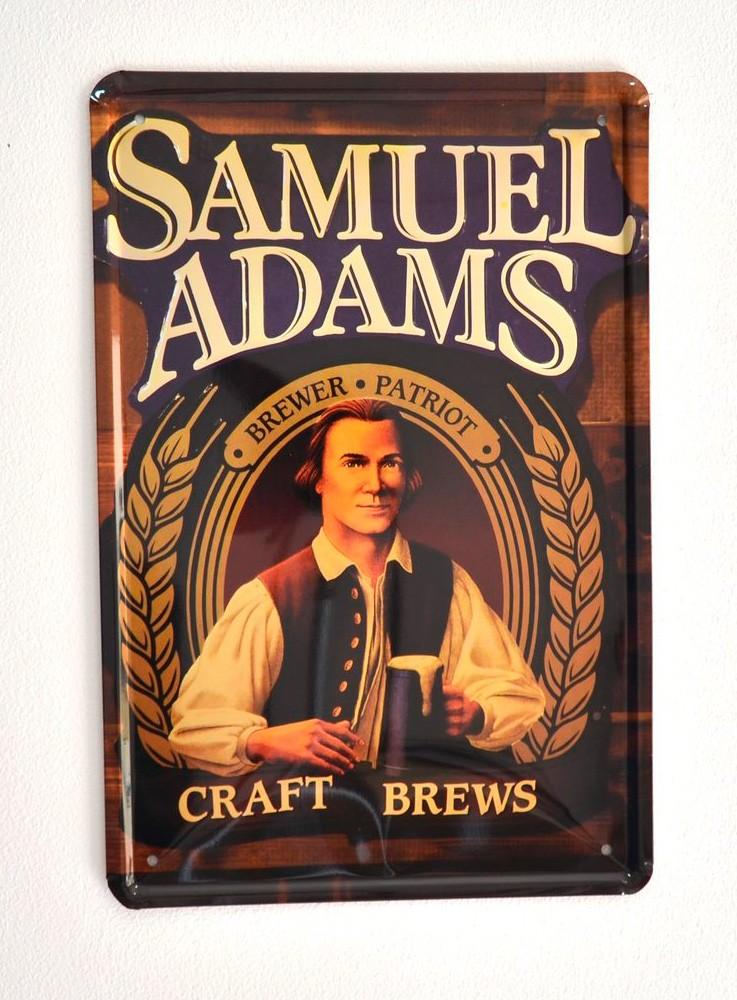 Cartel de Cerveza Samuel Adams