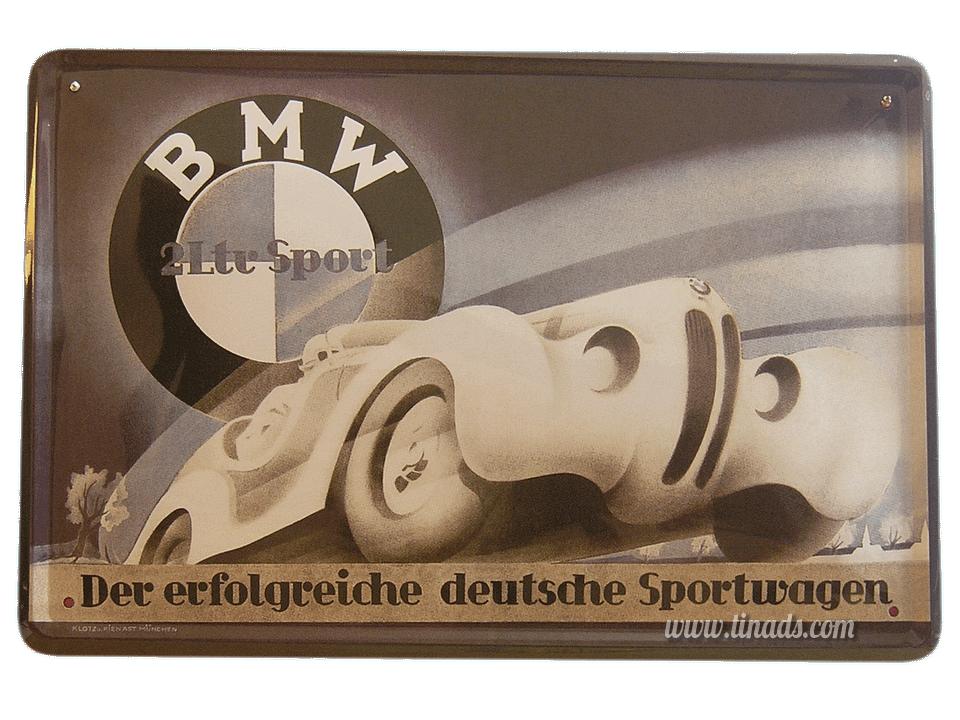 Cartel Publicitario Bmw