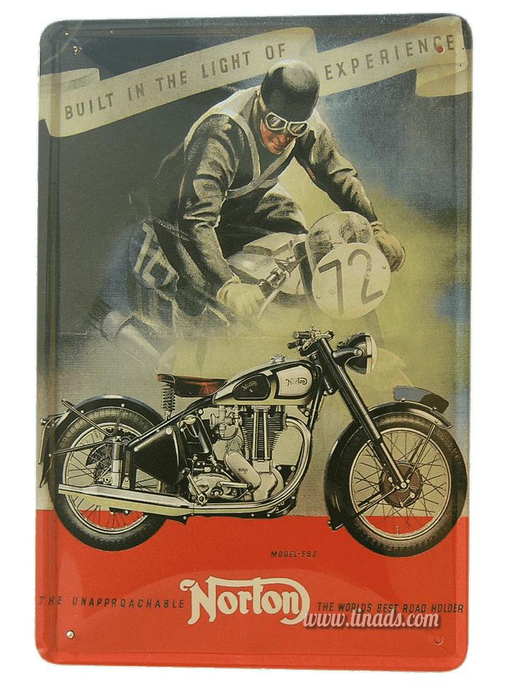 Cartel Publicitario Norton