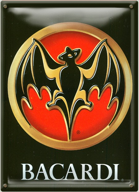 Cartel Publicitario Bacardí