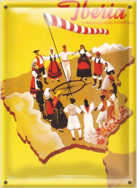 Postal Metálica Iberia España