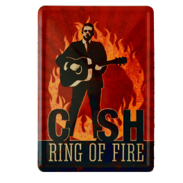 Postal Metalica Cash Ring Of Fire