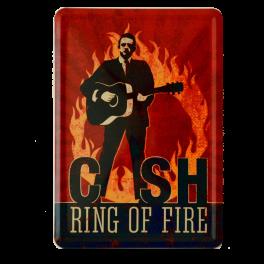 Postal Metalica Cash Ring Of Fire