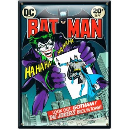 Postal Metálica Batman